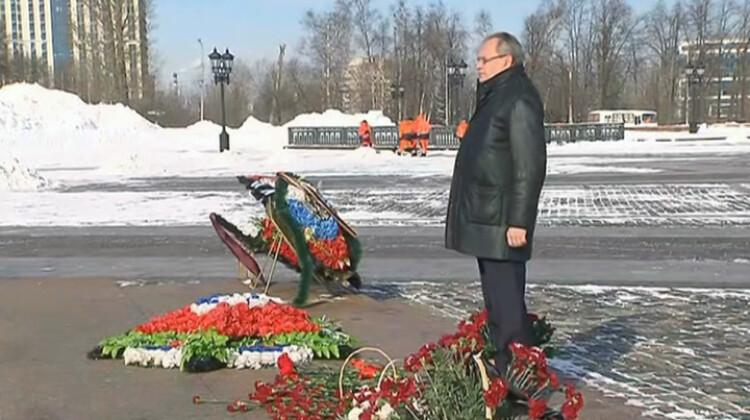 Валерий Фадеев: Пока мы помним о защитниках Отечества, мы – не просто население, мы – народ!