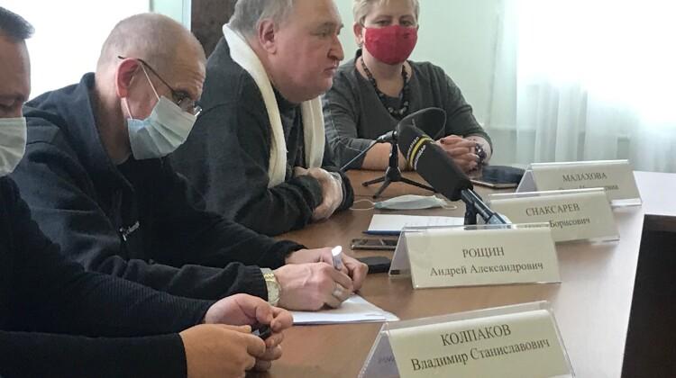 Состоялось совместное заседание комиссий Совета