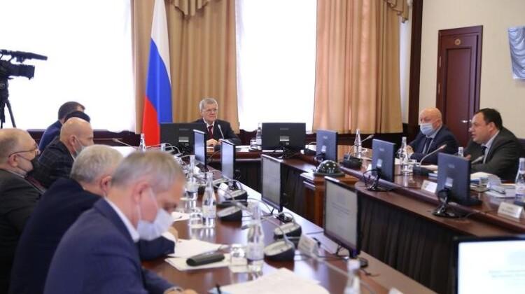 Юрий Чайка провел рабочую встречу с представителями органов власти и общественности