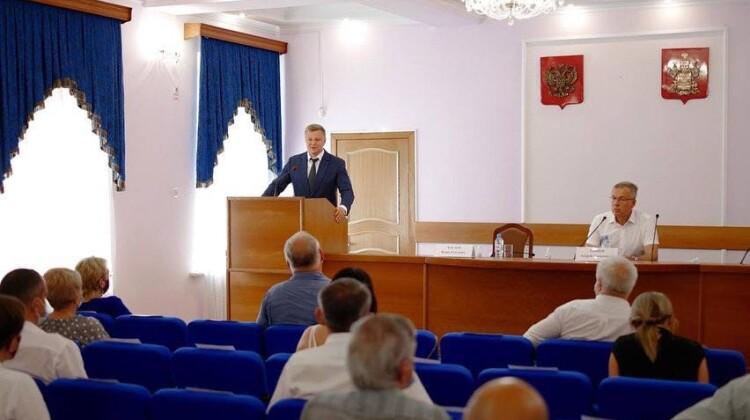 Вице-губернатор Игорь Чагаев представил обновленный состав Совета