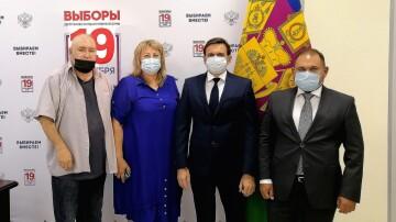 Павел Снаксарев: для голосования избирателей с инвалидностью созданы все условия