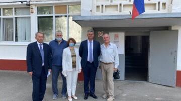 Члены Совета проинспектировали избирательные участки в Анапе и Апшеронском районе